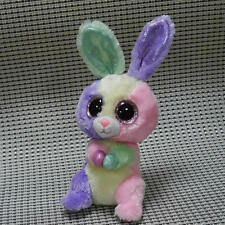 Soft TOY From TY BEANIES BOOS Bunny Rabbit Bloom Stuffed toy without all tags