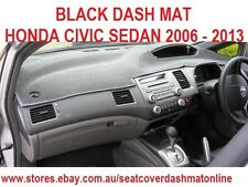 DASH MAT, DASHMAT, DASHBOARD COVER FIT  HONDA CIVIC SEDAN  2006-2013, BLACK