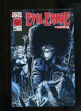 EVIL ERNIE THE RESURRECTION #2 (9.2) SIGNED BY MORALES AND SMITH.