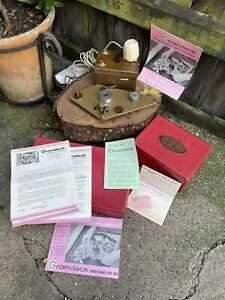 VINTAGE 1950s boxed GRAMDECK GRAMOPHONE TAPE RECORDER reel to reel speaker paper