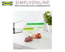 60x IKEA ISTAD Small Plastic Food Storage Freezer Resealable Reusable Zip Bags