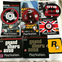 Grand Theft Auto Collector's Edition / COMPLETE / Playstation 1 / PS1 PS2/PS3