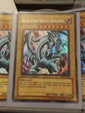 Blue Eyes White Dragon FL1-EN001 Secret Rare Limited Edition Yugioh