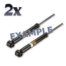 Rear Hydraulic Shock Absorbers PAIR Fits NISSAN March Micra 1992-2003