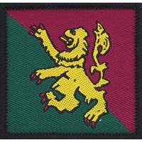 BRITISH ARMY 51ST INFANTRY BRIGADE & HQ SCOTLAND(51 INF BDE) TRF FLASH RED CLAWS