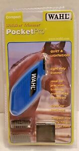 WAHL Whisker Trimmer PocketPro - New - Quiet & Lightweight - Compact Size - Pets