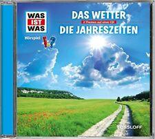 CD * WAS IST WAS - FOLGE 12 - DAS WETTER / DIE JAHRESZEITEN # NEU OVP !