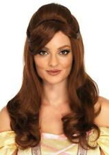 Storybook Beauty Wig Belle Princess Fancy Dress Up Haloween Costume Accessory