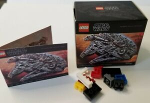 1/6 SCALE Dollhouse Mini Lego Box, Instructions, and 11 tiny blocks - Star Wars