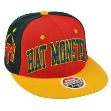 Zephyr Hat Monster Brand Super Star Snapback Flat Bill Three Tone 32/5 Hat Cap