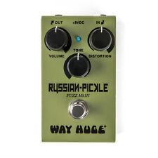 Used Dunlop Way Huge Smalls WM42 Mini Russian Pickle Fuzz Pedal!