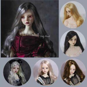 QQ-65 BJD Doll Wig  Full Sizes 1/3,1/4,1/6,1/8  dollyplanet doll hair