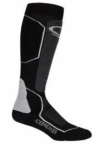 Icebreaker Women's Ski Plus Medium OTC Socks UK 7-8.5 LN110 OO 02