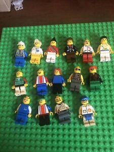 Vintage Lego Minifigure Lot 15 Classic Town Space Castle City Make Female Pirate