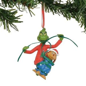 Dept 56 The Grinch Wrapping Max Ornament 6011005