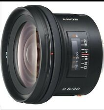 NEW SONY 20mm F2.8 Lens for A Mount (SAL20F28)
