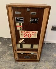 More details for antique cigarette  dispensing machine woodbine collectible vending machine