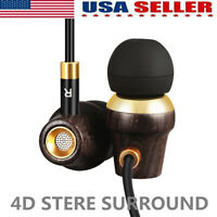 3.5mm Super Bass Headset In-Ear Earphone Stereo Earbuds Headphone Wired Mic USA