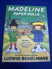 1994 Ludwig Bemelmans Madeline Paper Dolls Uncut Pristine Condition Viking Press