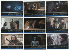 2017 Game of Thrones Season 6 COMPLETE BASE SET #1 - 100 Komplett