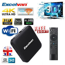 Excelvan ANDROID SMART TV BOX Quad Core 2GB+16GB 4K*2K HDTV WIFI Dolby+ Remote