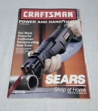 VINTAGE SEARS CRAFTSMAN POWER AND HAND TOOLS CATALOG 1999-2000