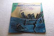 JAMES COTTON - Signed Autograph - Live & On The Move - 2 LP BUDDAH - Blues Harp