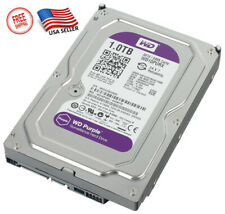 Western Digital 1 TB Surveillance Hard D Drive -5400 RPM Class SATA 6Gb/s 64MB