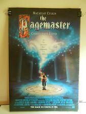 The Pagemaster (1994) Original 2 Sided Movie Poster Macauley Culkin 27x40