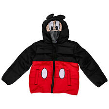 Disney Mickey Mouse Costume Puffy Kids Jacket Red