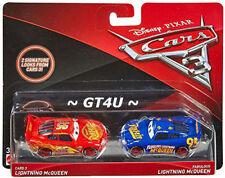 Disney Cars 3 Lightning McQueen & Fabulous Lighting McQeen 2 Pack 1:55 Diecast