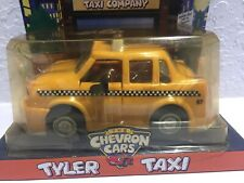 1997 The Chevron Cars Yellow Tyler Taxi Car Vehicle Brand New