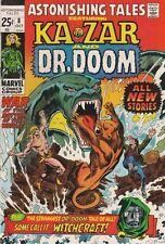 Astonishing Tales 8 strict 1971 VF/NM 9.0 High-Grade Doctor Doom Ka-Zar Richmond