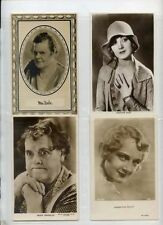Marie Dressler Josephine Dun collection 1930s movie film star postcard  lot of 4