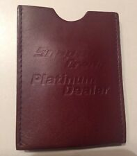 Clip Wallet Platinum Dealer 90s Rare Snap On Tools Collectable Barrington Money