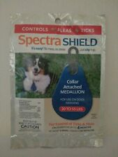 Spectra Shield Dog Flea and Tick 4 Four Month Treatment Medium Dog New Sealed
