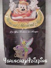 Disney Pin DS Tinker Bell  Magical Musical Moments do you believe in magic new