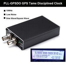 PLL-GPSDO GPS Tame Disciplined Clock GPS Receiver T0513 1PPS 10MHz DC5V Black
