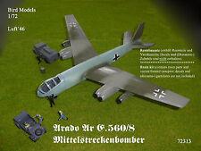 Arado Ar E.560/8 Mittelstreckenbomber  1/72 Bird Models Resinbausatz / resin kit