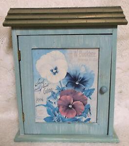 "Key Box, Wall Mounted, New, 11x8x2 1/2"", Farmhouse Decor"