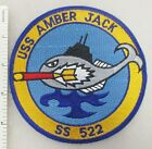 US NAVY USS AMBER JACK SS-522 SUBMARINE PATCH Made for Veterans & Collectors