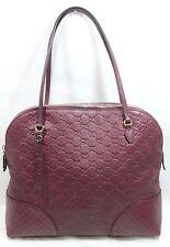 Gucci Bree Dome Tote Guccissima Dusty Rose Leather Medium Shoulder Bag 323673