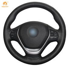 Leather Steering Wheel Cover for BMW F20 F45 F30 F31 F34 F32 F33 F36 14-17 #BM43