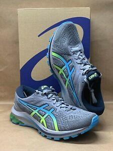 ASICS GT-1000 10 Sheet Rock/ Hazard Green 1011B001-025 Men's Running Shoes
