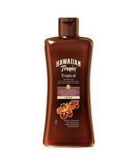 HAWAIIAN TROPIC Olio Solare Abbronzante COCCO Tropical Senza protezione 200 ml