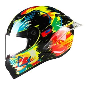 AGV VALENTINO ROSSI Full Face Motorcycle Helmet Festival Color Carbon Fiber Made
