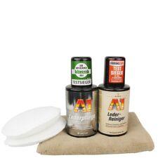 Dr.Wack A1 Lederreinigung & Lederpflege Set inkl.Auftragepads & Microfasertuch