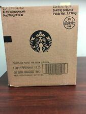 Starbucks Pike Place Medium Roast Whole Bean Coffee 6 Bags 6 lbs Total 6/19/20