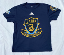 Philadelphia Union Soccer Schools Bimbo MLS Adidas (Climalite) Youth Size Small