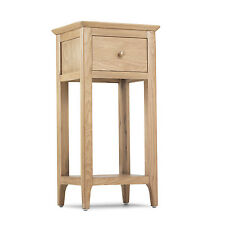 Askim Oak Hall Lamp Bedside Table Solid Wood Furniture